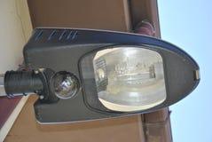 External sodium lamp royalty free stock photo