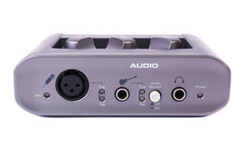 External Sound Card for PC Royalty Free Stock Photos