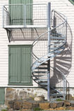 External Spiral Staircase Royalty Free Stock Image