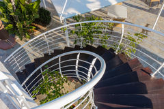External Spiral staircase Stock Image