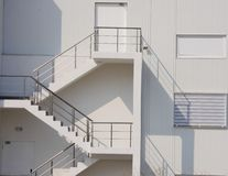 External staircase. Royalty Free Stock Photo