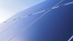 External strona na otwartym powietrzu panel słoneczny 3d tła pojęcia energia odizolowywał odpłacającego się słonecznego biel zdjęcie wideo