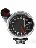 External Tachometer With Flash. Stock Photo