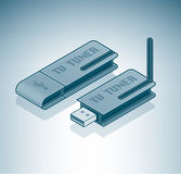External TV Tuner Royalty Free Stock Photography