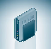 External TV Tuner Box Stock Photography