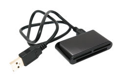 External usb cardreader Stock Image