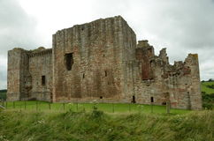External View of Crichton castle Royalty Free Stock Photography