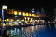 External view of Dubai Mall Royalty Free Stock Images