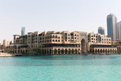External view of Dubai Mall Stock Photography