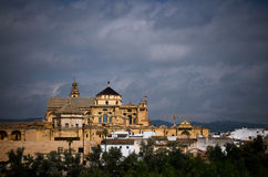 external view of mosque of cordoba Stock Image