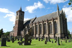 External View Of Dunblane Cathedral Stock Image