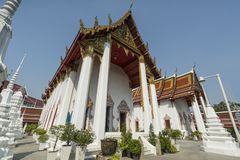 Wat Patumkongka Soi Rachaworawlham temple in Bangkok royalty free stock images