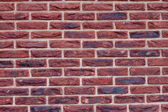 External wall from a brick Stock Photography