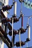 Externe elektrische separator en zekeringen Stock Afbeeldingen