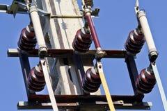 Externe elektrische separator en zekeringen Stock Fotografie