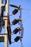Externe elektrische separator en zekeringen Royalty-vrije Stock Foto's