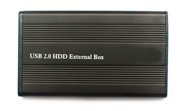 Externe HDD Stock Afbeelding