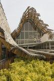 Externe mening van Chinese Pavillion in Expo 2015 Royalty-vrije Stock Foto's