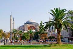 Externe mening van Hagia Sophia Royalty-vrije Stock Afbeelding