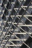 Externe muren van gebouwen Stock Afbeelding