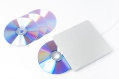 Externer DVD-Verfasser Stockfotos