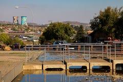 Externer Hector Pieterson Memorial Museum in Soweto Johannesburg Stockbilder