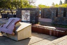 Externer Hector Pieterson Memorial Museum in Soweto Johannesburg Stockfotos