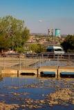 Externer Hector Pieterson Memorial Museum in Soweto Johannesburg Lizenzfreies Stockfoto