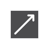 Externer Link-Ikone Stockbild