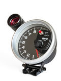 Externer Tachometer mit Blitz Lizenzfreie Stockfotografie