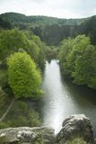 Externsteine Herford, Alemanha Fotografia de Stock Royalty Free