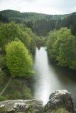 Externsteine Herford, Niemcy Fotografia Royalty Free