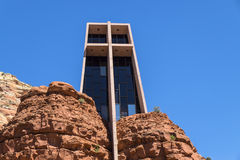 Exteropr View of Chapel of the Holy Cross #1 Royalty Free Stock Photos