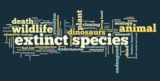 Extinct species Royalty Free Stock Photography