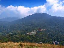Extinct volcano. In Taipei, Taiwan, Yangmingshan Nationl Park royalty free stock image