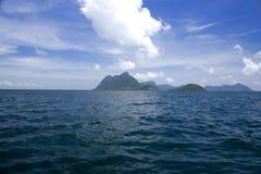 Extinct Volcano Island Stock Image