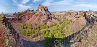 Extinct Volcano in Racos Royalty Free Stock Photo