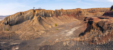 Extinct Volcano in Racos Royalty Free Stock Images