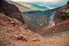 Extinct volcano Stock Photo