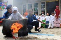 Extinga el fuego Foto de archivo libre de regalías