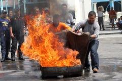 Extinga el fuego Imagenes de archivo