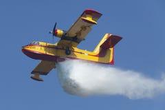 Extinga el incendio forestal Fotos de archivo libres de regalías