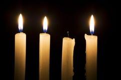 Extinguished candle Royalty Free Stock Photo
