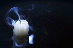 Extinguished Candle Stock Image
