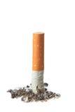 Extinguished cigarette. Stock Photos