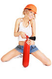 Extinguisher Stock Photography