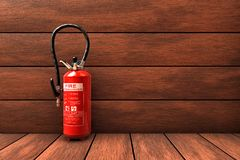 Extinguisher Stock Photo