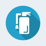 Extinguisher icon. Vector illustration of single isolated extinguisher icon Stock Photos