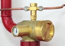 Extinguishing Stock Image