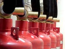 Extinguishing Royalty Free Stock Images